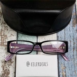 Prada VPR 10F 3AX-1O1 Acetate Eyeglasses/VIE813